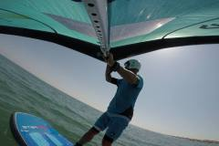 Duotone Foil Wing 4, Starboard Hyper Foil 6'6'', GoFoil Iwa