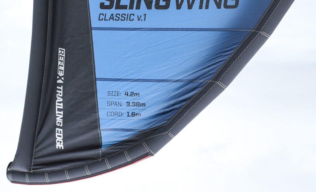 Slingshot Reflex Inflatable Trailing Edge