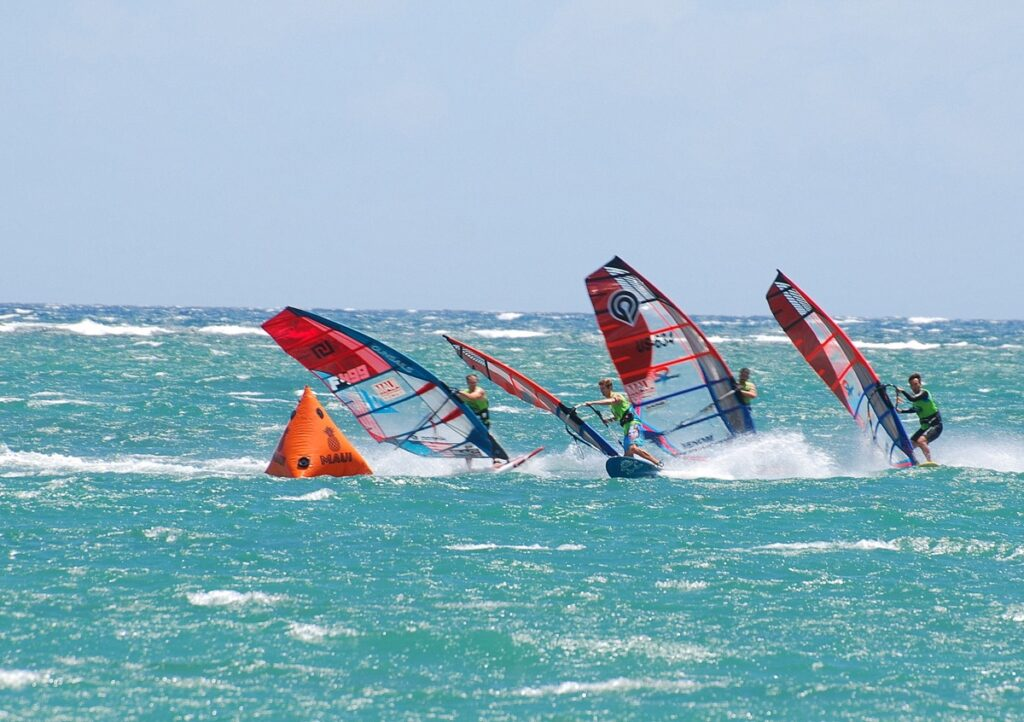 Slalom US Nationals. Kanaha Beach Park, Maui -HI USA.