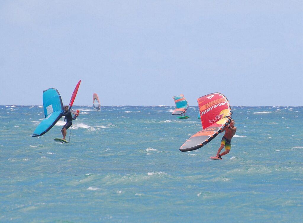 Kanaha Beach Park Wing Surf Race