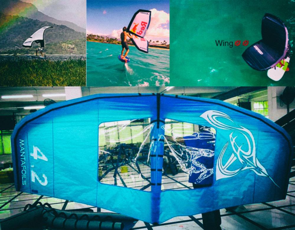Il mercato dei materiali per il Wing Surf. Aggiornamento