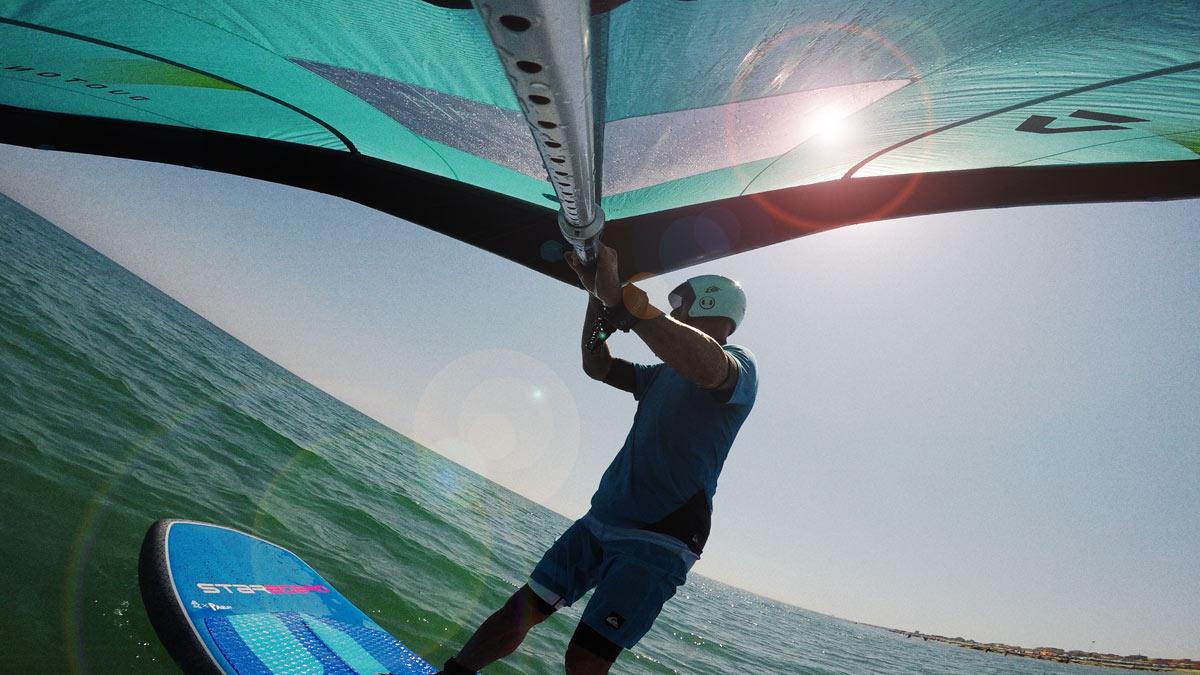 #WingsurfmagBlog. Duotone Foil Wing. Prime session