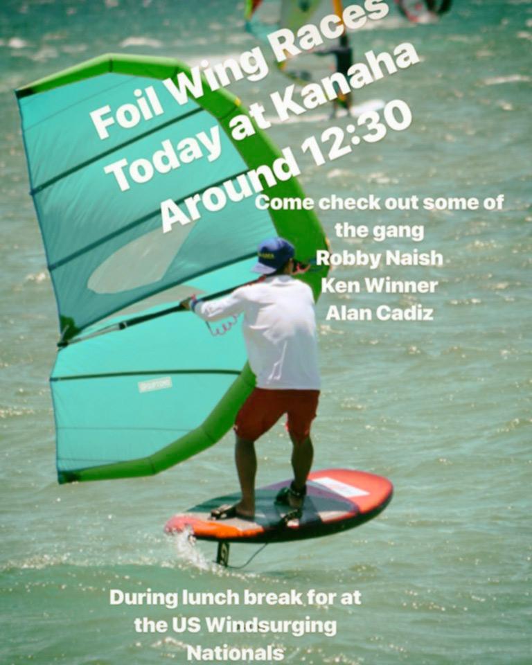 A Maui la prima prova di Wing Surf Race!