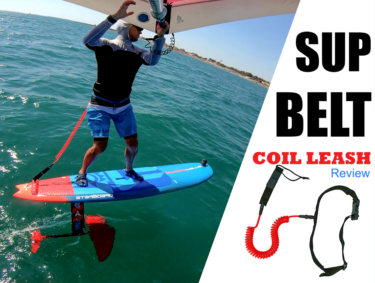 Un (economico) belt leash alternativo al SUP coil leash