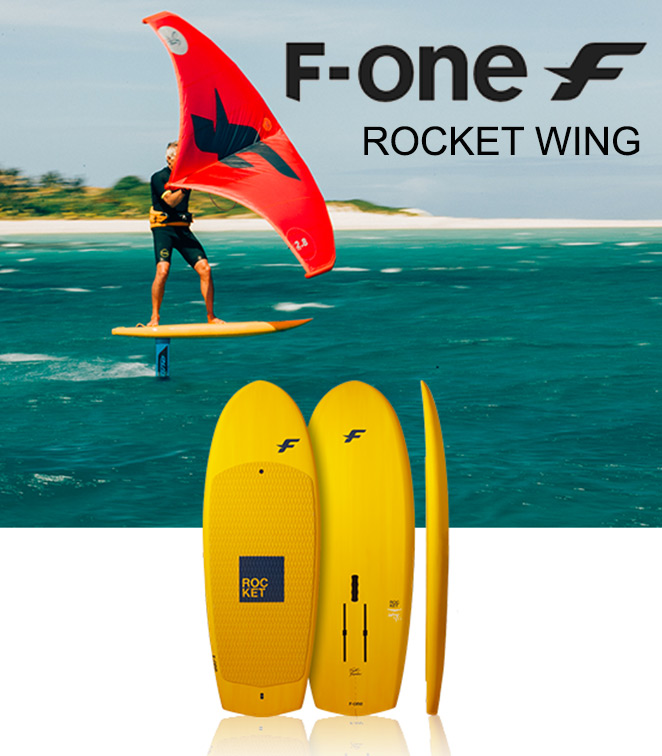 F-ONE presenta le tavole Rocket Wing