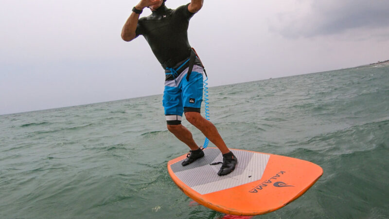 #WingsurfmagBlog. Due (difficili) Wingfoiling session …