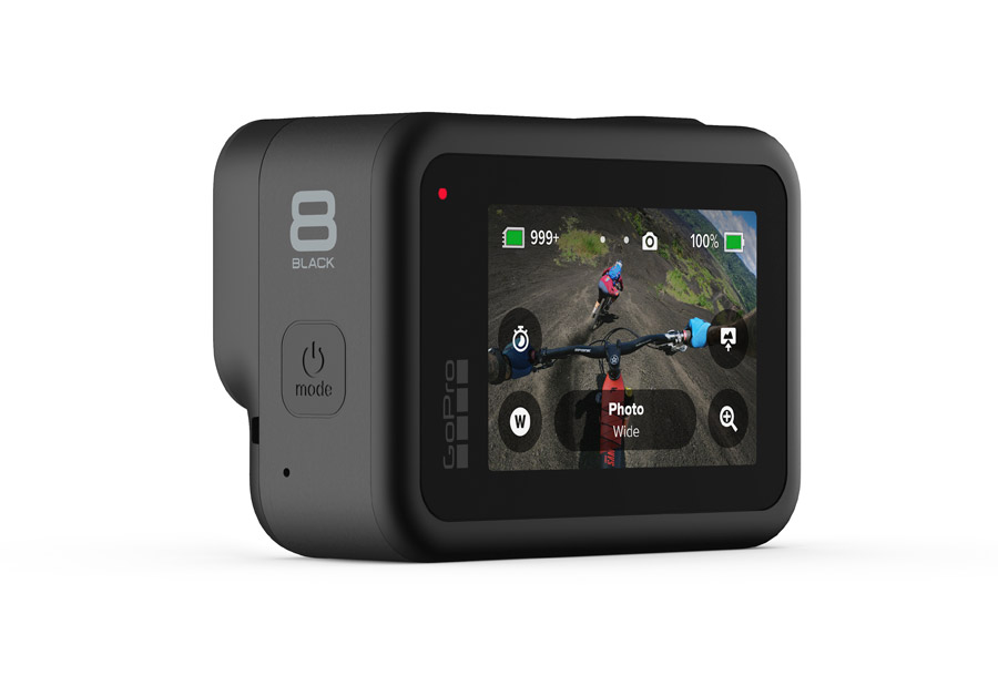 GoPro Hero 8 Black display