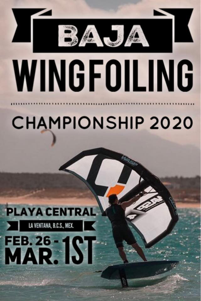 Wingfoiling contest @ La Ventana
