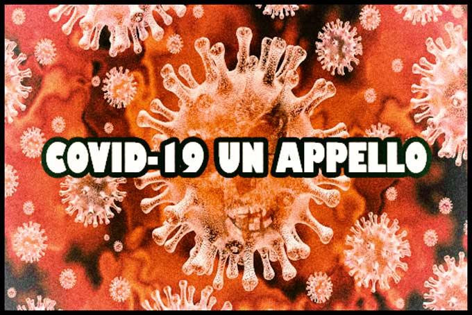 COVID-19. Un appello dalla Redazione