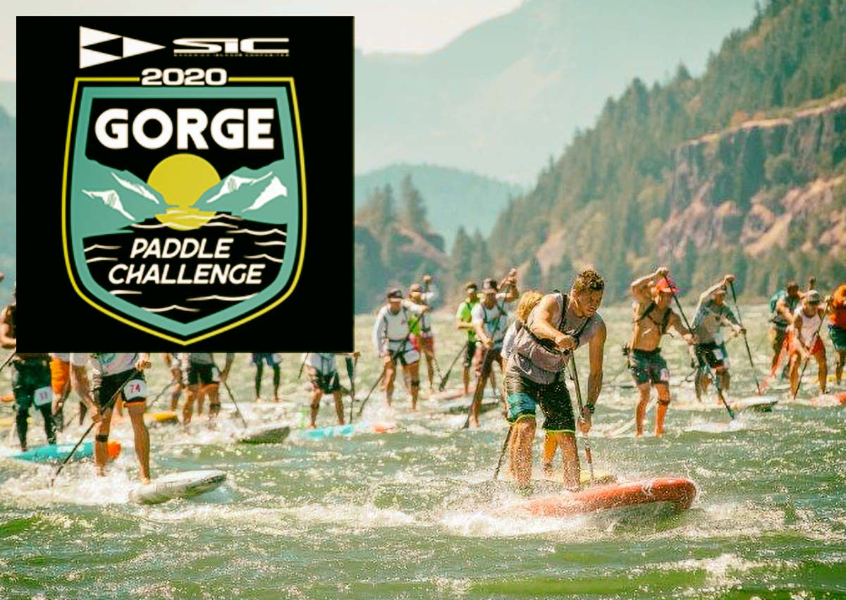 Wingfoiling alla SIC Gorge Paddle Challenge 2020