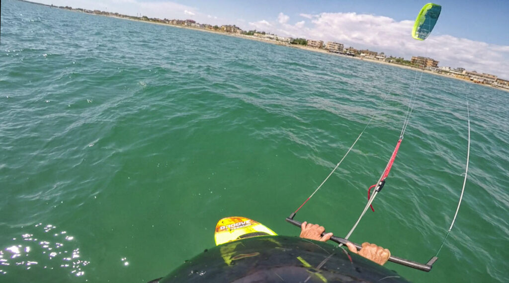 Ultra Light Wind Kite Foiling