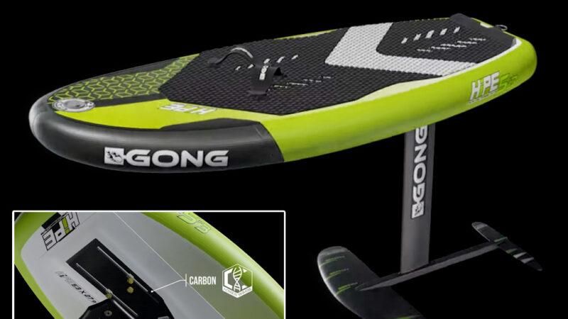 Gong Hipe. Una linea di gonfiabili dedicati al Wing/SUP Foil