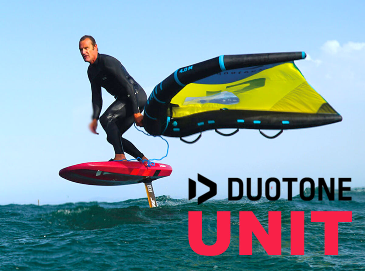 Duotone presenta l'ala full inflatable Unit
