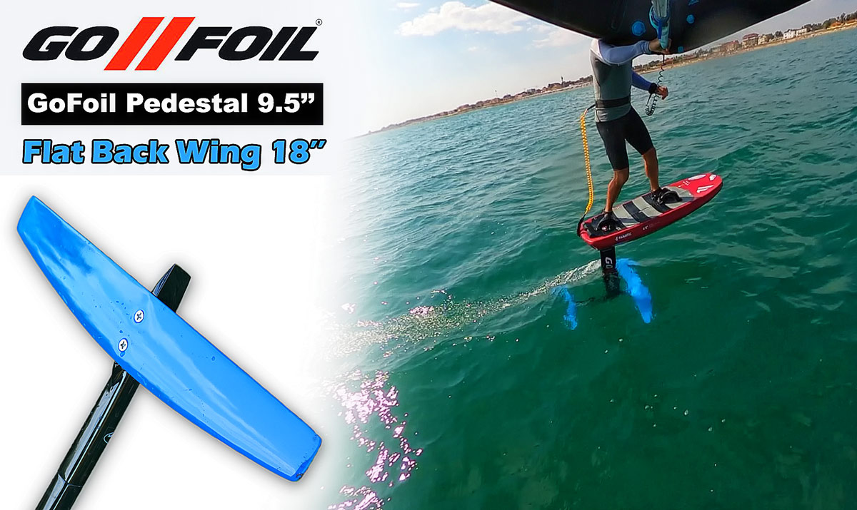GoFoil Pedestal 9.5'' / flat Back Wing 18'' review