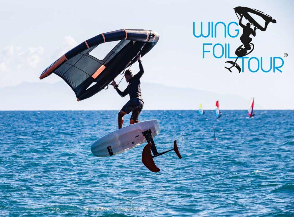 Wing Foil Tour 2020. Paolo Migliorini