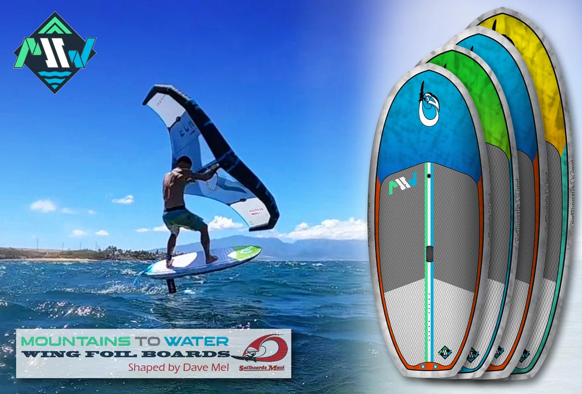 Mountains To Water presenta le nuove Flyer Wing Foil Board