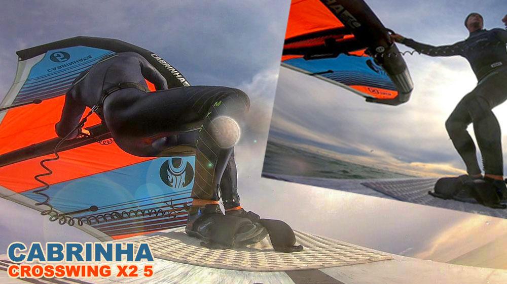 #Wingsurfmag Blog. Cabrinha X2 5. Prima session