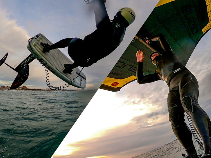 #Wingsurfmag Blog. Due session, nuovi materiali