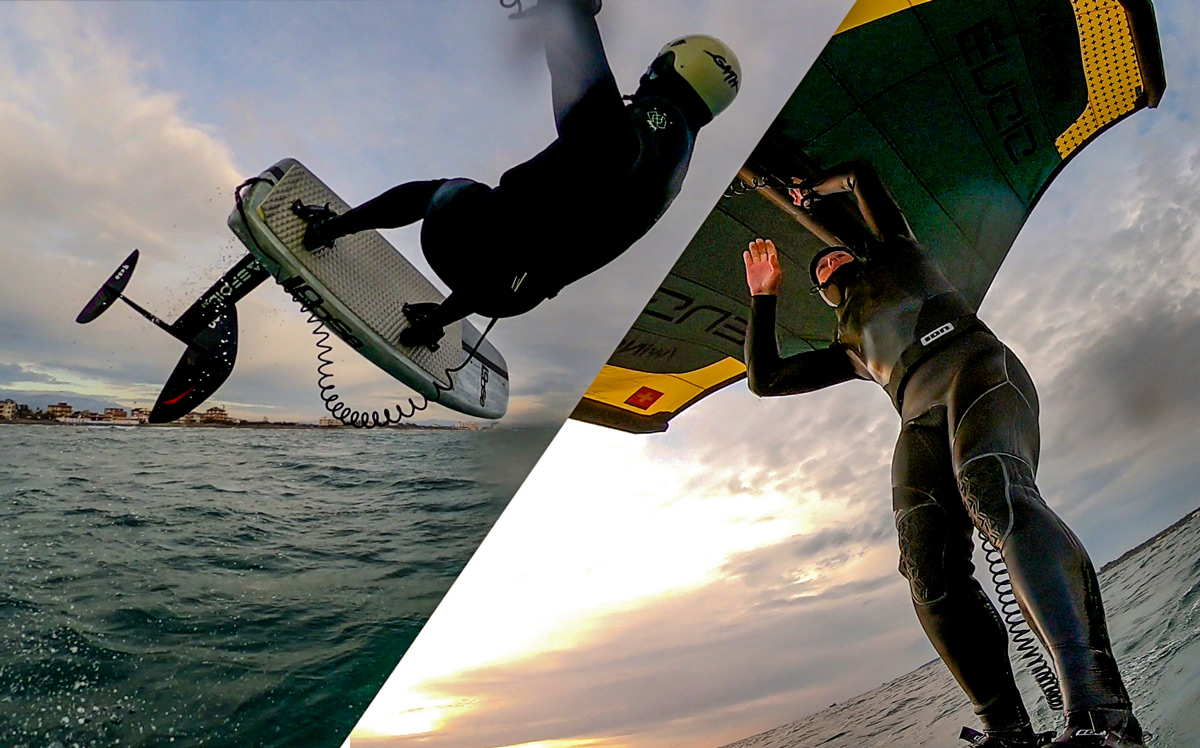 #Wingsurfmag Blog. Due session, nuovi materiali