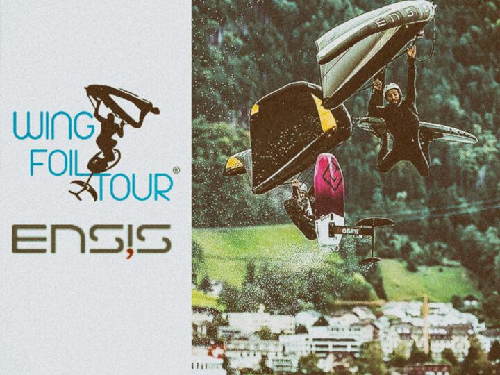 Ensis e SABFoil Moses main sponsor del Wing Foil Tour