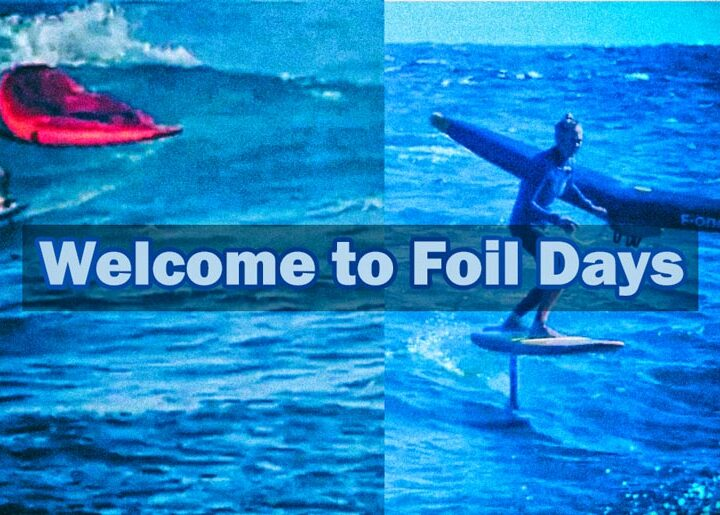 Stephane Etienne & Nicole Boronat. Welcome to Foil Days