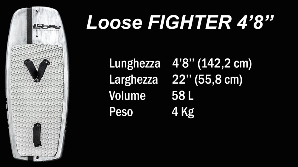 Loose Fighter 4'8'' Specifiche tecniche