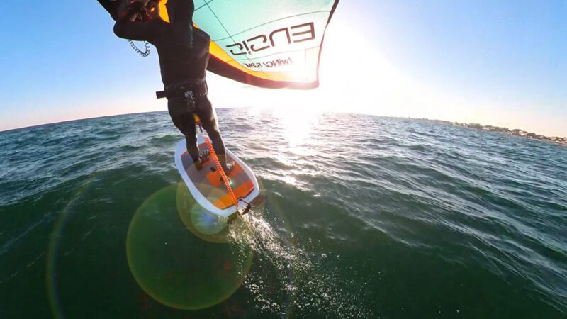#WingsurfmagBlog 22/02/21. Session report