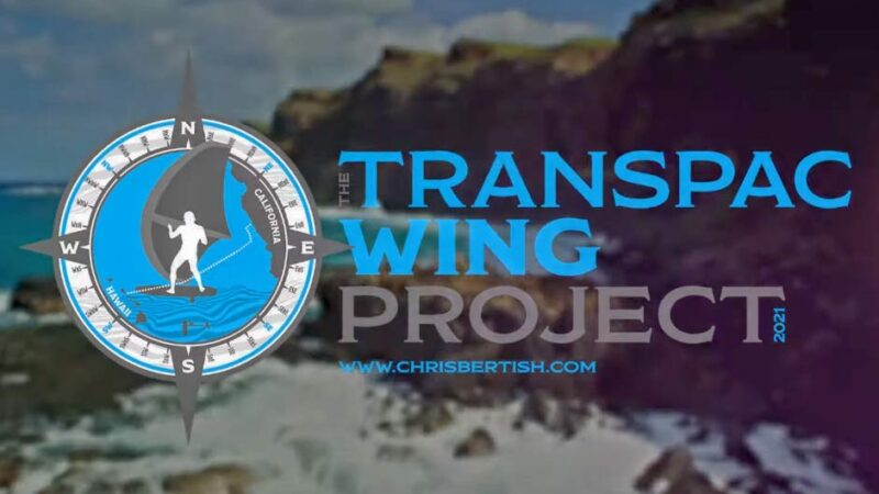 Transpac Wing Project. Un'altra impresa di Chris Bertish?