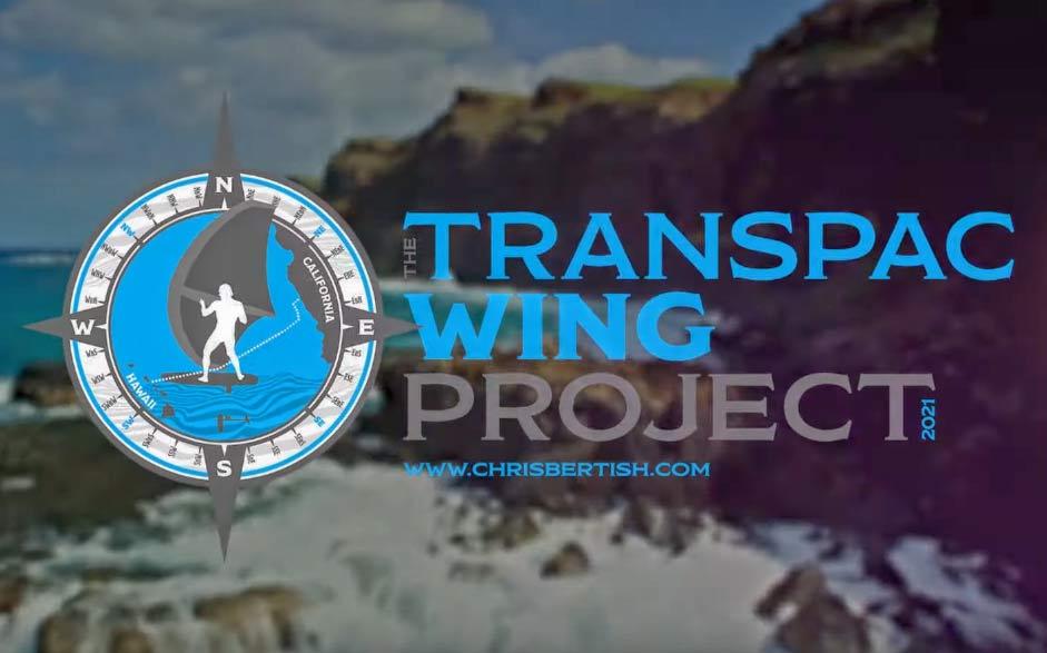 Transpac Wing Project. Un'altra impresa di Chris Bertish?