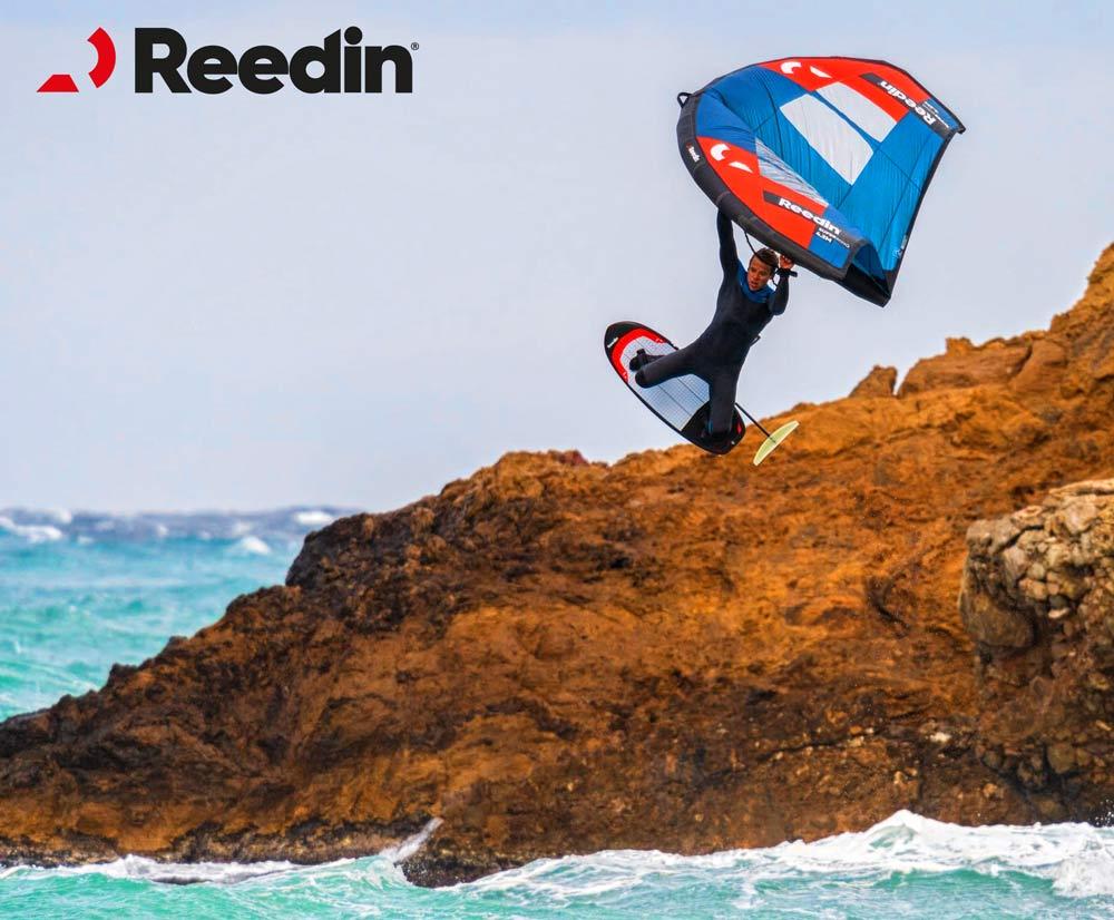Reedin entra nel mercato del Wingfoiling