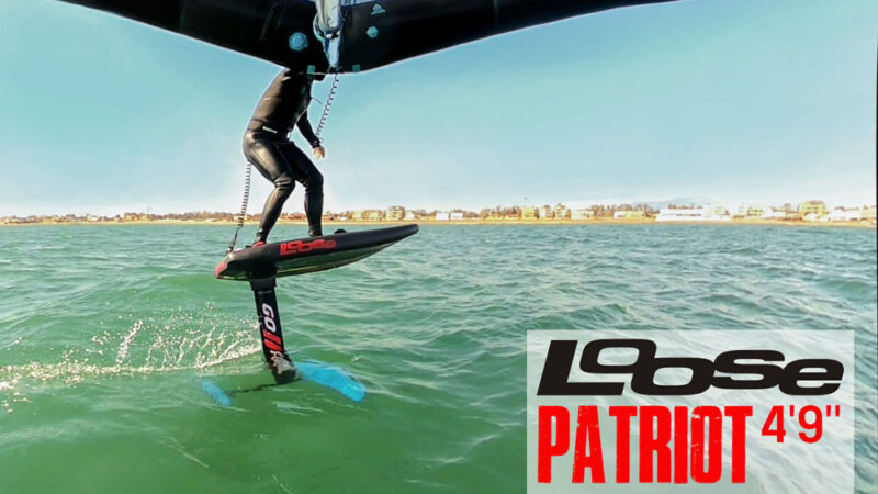 Loose Patriot 4'9'' prime impressioni