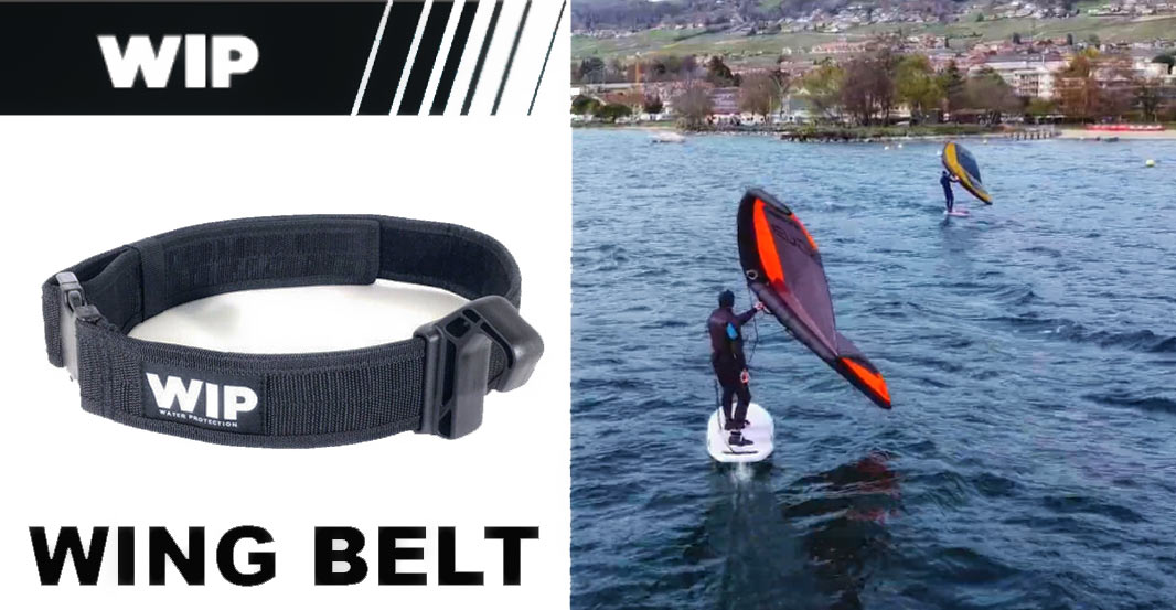 WING HARNESS BELT, The First Ever solution for Wing Foiling on the Market!