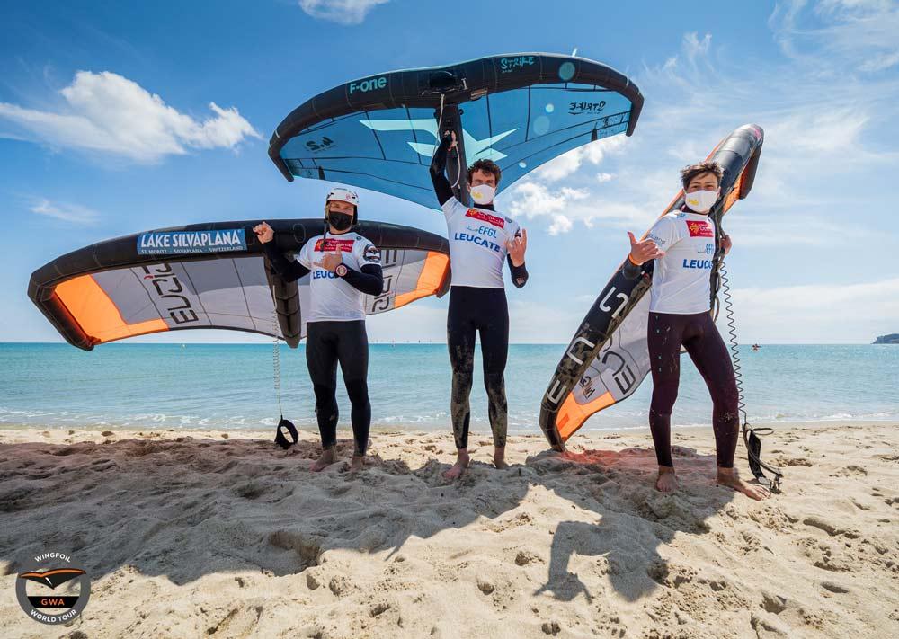 Riccardo Zorzi terzo nella prova di Surf-Freestyle a Leucate!