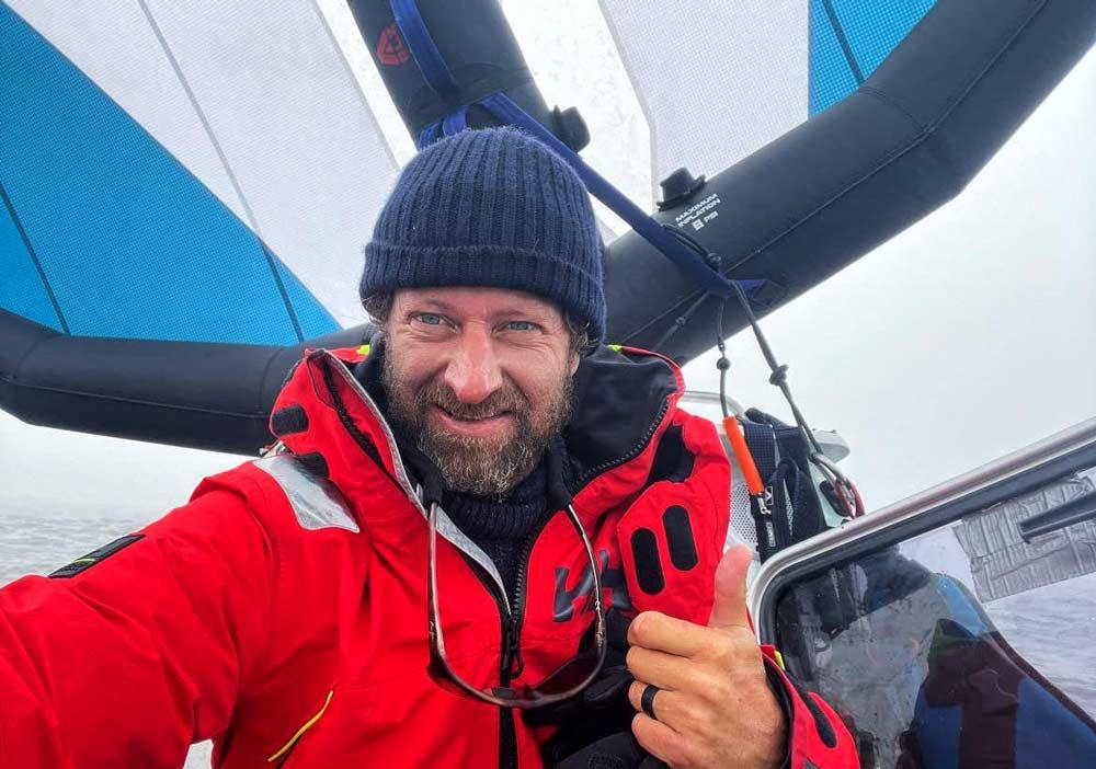 Chris Bertish – Transpac Wing Project. Aggiornamento