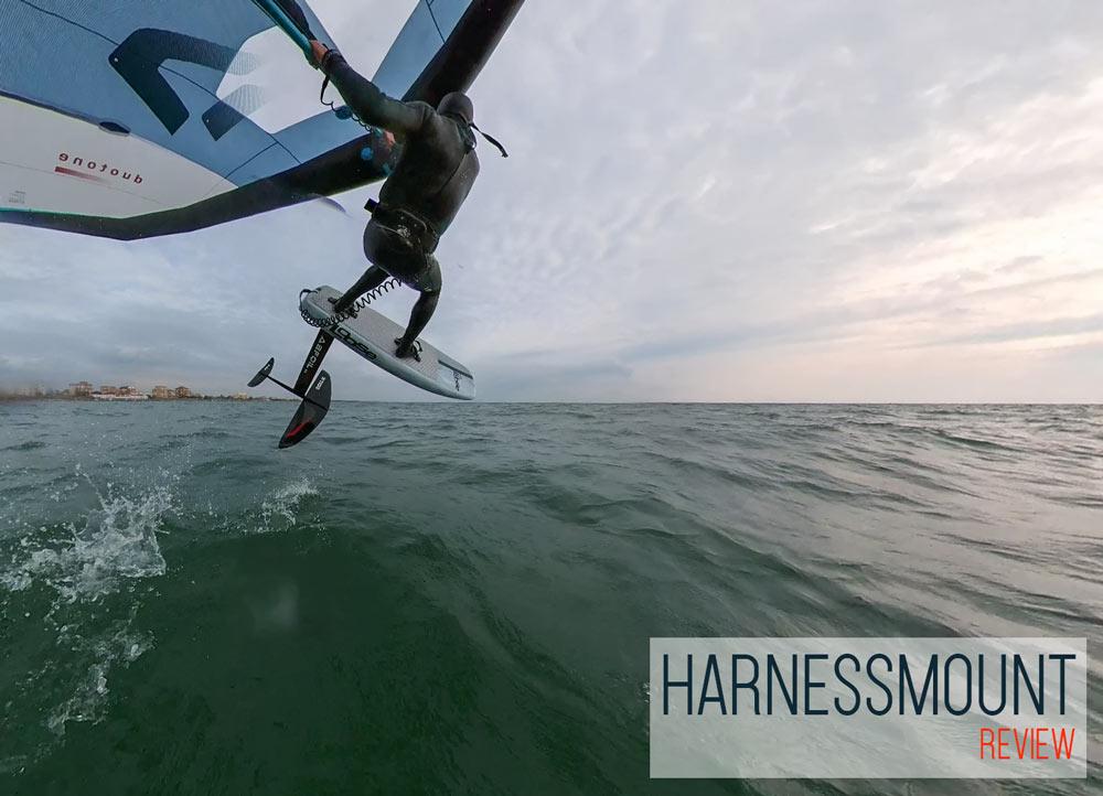 Harnessmount. Il migliore mount per action cam 360° nel Wing Foiling